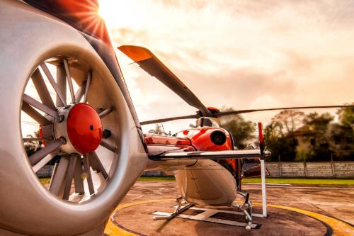 EC135 (tail rotor)
